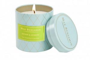 Assam & Lemon tea Max benjamin candele