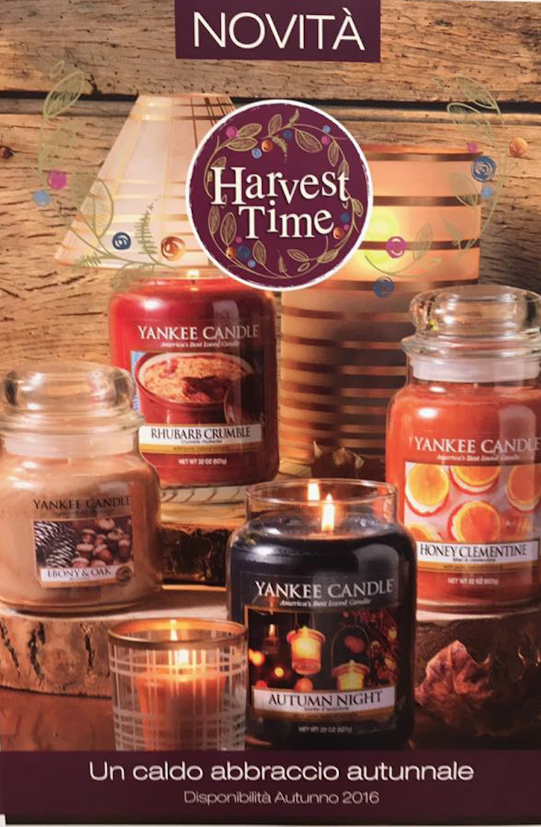 harvest time yankee candle
